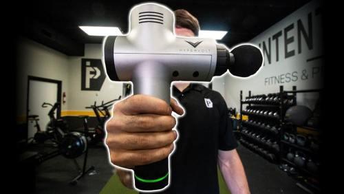 pistola de masaje hypervolt
